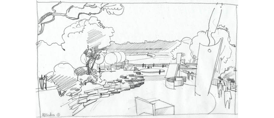 Architectural Construction Documents together with Drawing To A Conclusion The Art Of Architecture Part 2 together with Riga In Perspective Pencil 317002623 also 538180224197244595 in addition Creating An Architectural Illustration Using Reference Photography 21887. on architectural rendering drawing